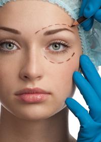 ästhetische chirurgie im gesicht